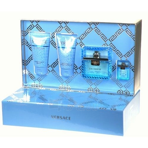 Versace Man Eau Fraiche EDT 50ml (set 3) Paveikslėlis 1 iš 1 250812003417