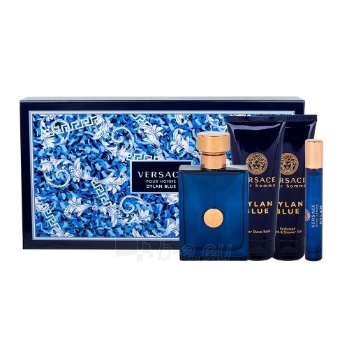 eau de toilette Versace Pour Homme Dylan Blue EDT 100ml + Aftershave Balm 100  ml + 6aa1910fbf