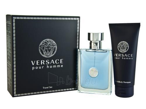 Tualetinis vanduo Versace Pour Homme EDT 100 ml (Rinkinys) Paveikslėlis 1 iš 1 310820172595