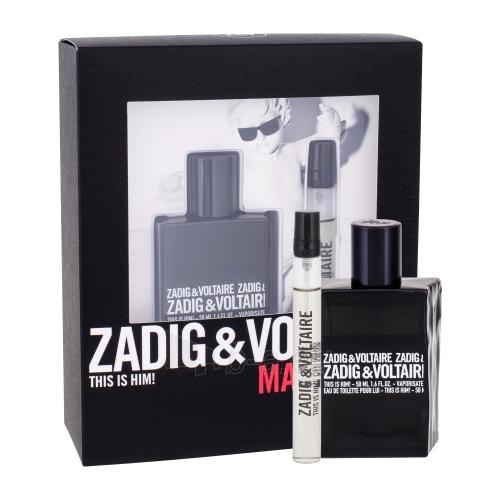 eau de toilette Zadig & Voltaire This is Him! EDT 50ml (Rinkinys) Paveikslėlis 1 iš 1 310820115246