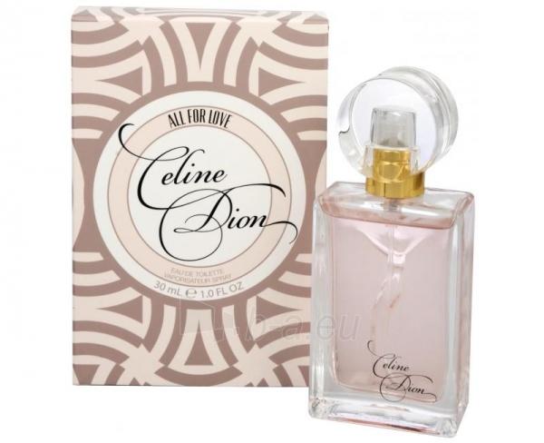 Tualetins vanduo Celine Dion Signature All For Love EDT 15ml Paveikslėlis 1 iš 1 250811012496