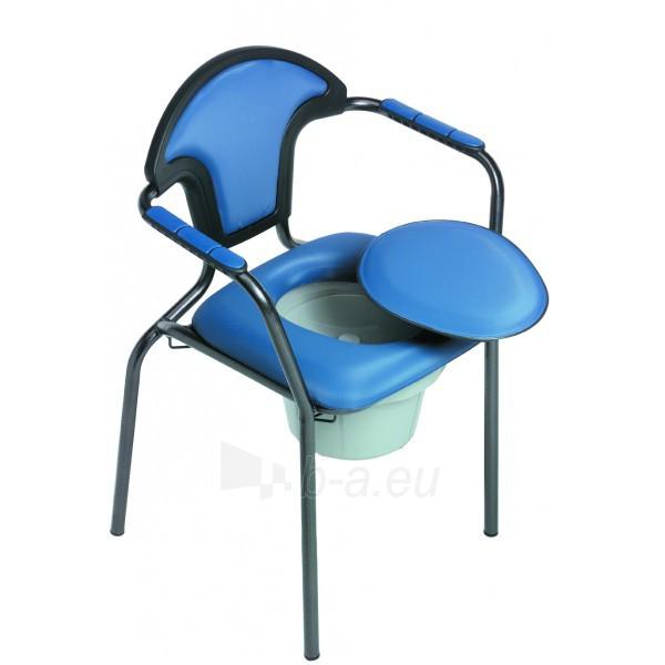 Tualeto kėdė Open, mėlyna 300523 Paveikslėlis 1 iš 1 310820217873