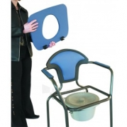 Tualeto kėdė žalia Paveikslėlis 2 iš 2 250630800090