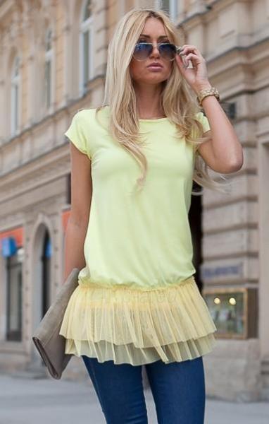 Tunika Collin (geltonos spalvos) Paveikslėlis 1 iš 4 310820033234