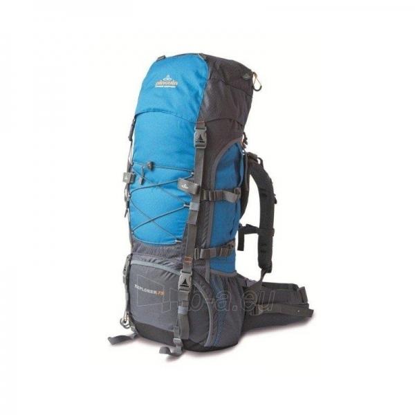 Turistinė kuprinė Explorer 75 Mėlyna Paveikslėlis 1 iš 3 310820133944