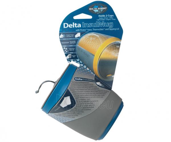 Turistinis indas Delta Insulmug Grey Paveikslėlis 2 iš 2 310820228761