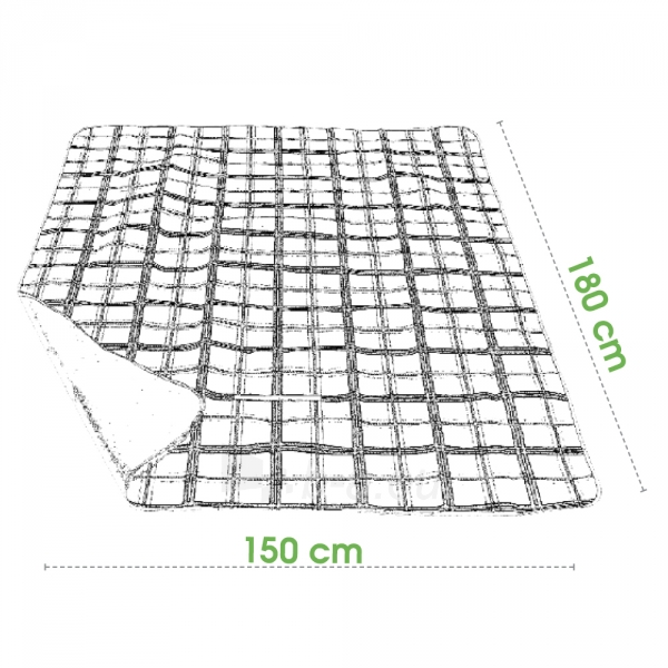 Turistinis kilimėlis Spokey CHECKERED Paveikslėlis 2 iš 3 250530020054