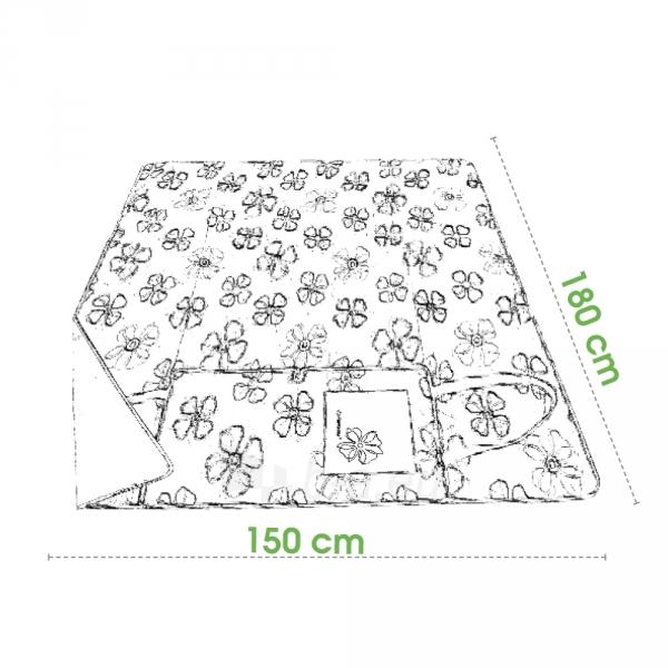 Turistinis kilimėlis Spokey FLOWERS Paveikslėlis 3 iš 3 250530020057