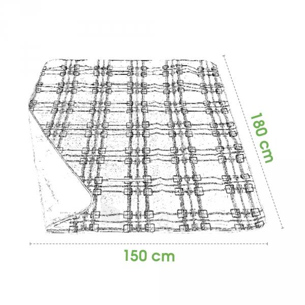 Turistinis kilimėlis Spokey PICNIC TARTAN Paveikslėlis 2 iš 3 250530020064