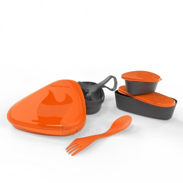 Turistinis komplektas LunchKit Orange Paveikslėlis 1 iš 1 251530200113