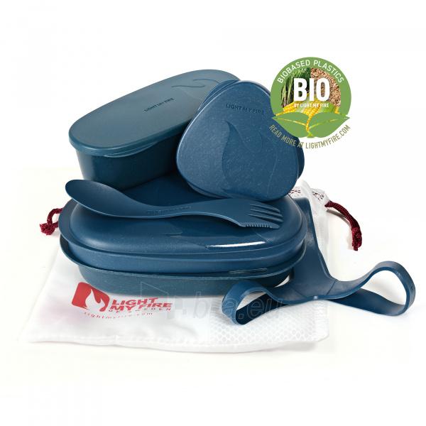 Turistinių indų rinkinys Lunch Kit Hazy blue Paveikslėlis 1 iš 2 310820228971