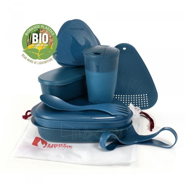 Turistinių indų rinkinys Meal Kit Bio Hazy blue Paveikslėlis 1 iš 2 310820228967