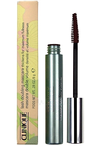 Clinique Lash Doubling Mascara Thickens 02 Black/Brown Cosmetic 8g Paveikslėlis 1 iš 1 250871100097