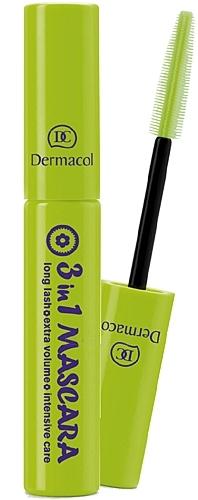 Tušas akims Dermacol 3in1 Mascara Cosmetic 10ml Paveikslėlis 1 iš 1 250871100119