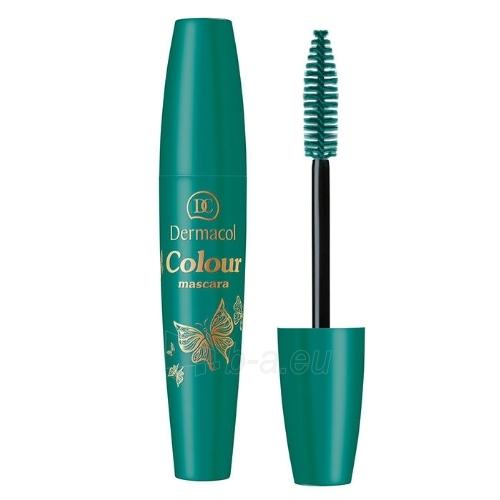 Tušas akims Dermacol Colour Mascara Cosmetic 10ml Shade 3 Petroleum Paveikslėlis 1 iš 1 310820024100