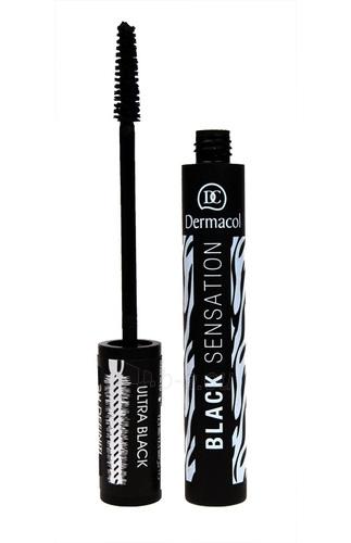 Dermacol Mascara Black Sensation Cosmetic 12,5ml Paveikslėlis 1 iš 1 250871100458