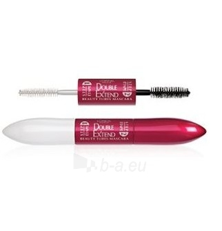 Tušas akims L´Oreal Paris Double Extension Beauty Tubes Black Mascara Cosmetic 14ml Paveikslėlis 1 iš 1 250871100242
