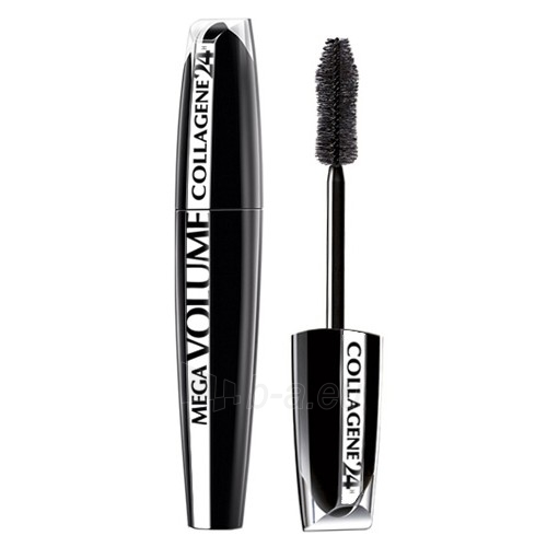 Tušas akims L´Oreal Paris Mascara Mega Volume Collagene 24h Black Cosmetic 9ml Paveikslėlis 1 iš 1 250871100254