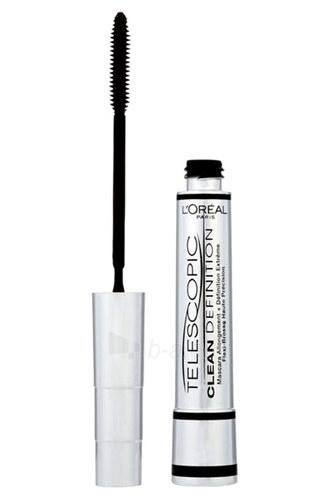 f6a6cf7f398 L´Oreal Paris Mascara Telescopic Clean Definition Cosmetic 8ml Black  Paveikslėlis 1 iš 1 250871100792