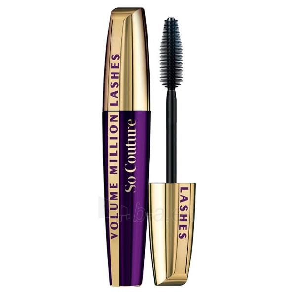 Tušas akims L´Oreal Paris Mascara Volume Million Lashes So Couture Cosmetic 9,5ml Black Paveikslėlis 1 iš 1 250871100675