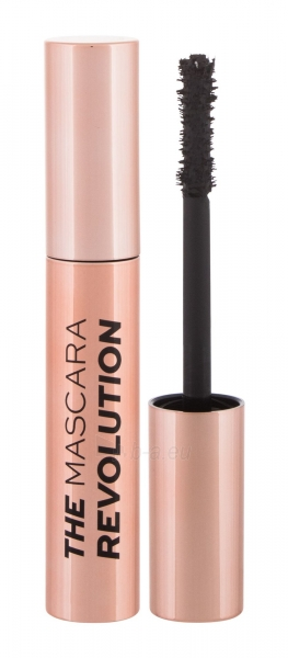 Tušas akims Makeup Revolution London The Mascara Revolution Black Mascara 8ml Paveikslėlis 2 iš 2 310820189028