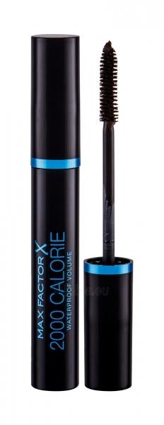 Tušas akims Max Factor 2000 Calorie Waterproof Mascara Cosmetic 9ml Black Brown Paveikslėlis 2 iš 2 250871100820