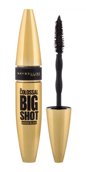 Tušas akims Maybelline Colossal Big Shot Volum Express Daring Black Mascara 9,5ml Paveikslėlis 1 iš 2 310820174570
