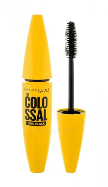 Tušas akims Maybelline Mascara Colossal Volum 100% Black Cosmetic 10,7ml Paveikslėlis 1 iš 2 250871100286