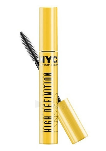 NYC New York Color High Definition Mascara Cosmetic 8ml Paveikslėlis 1 iš 1 250871100440