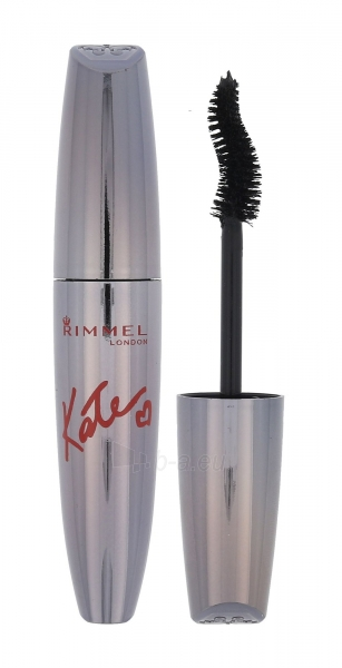 Tušas akims Rimmel London Mascara Scandal Eyes By Kate Cosmetic 12ml 004 Jet Black Paveikslėlis 1 iš 2 250871100728