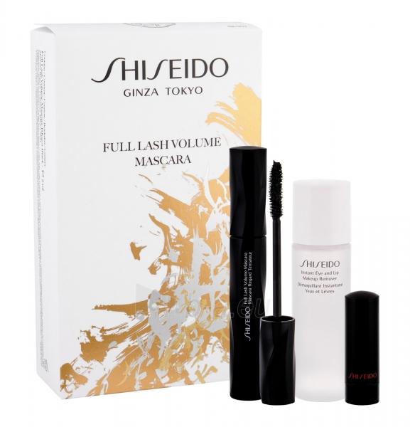 Tušas akims Shiseido Full Lash BK901 Black Mascara 8ml (Rinkinys) Paveikslėlis 1 iš 1 310820161236