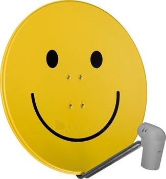 TechniSat TV Sat Satman 850 Plus, AZ/EL, converter UnySat Twin LNB, smiley