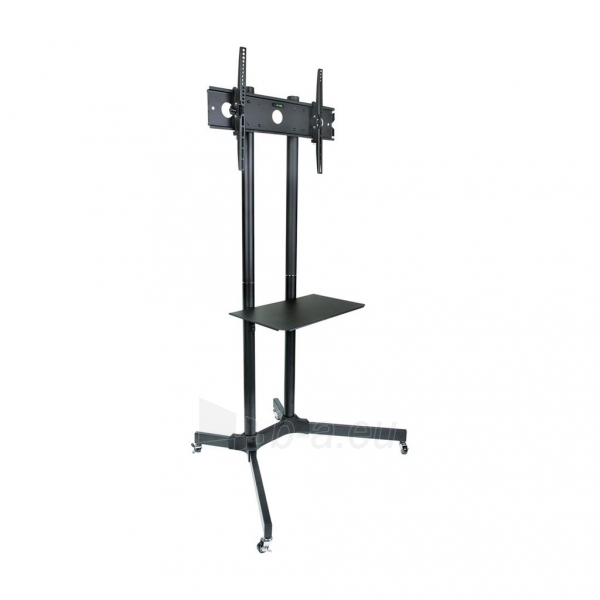 TV laikiklis ART BOARD on wheels+HOLDER TO TV LCD/LED/PLAZMA 30-65 60KG S-08A Paveikslėlis 3 iš 5 310820045027