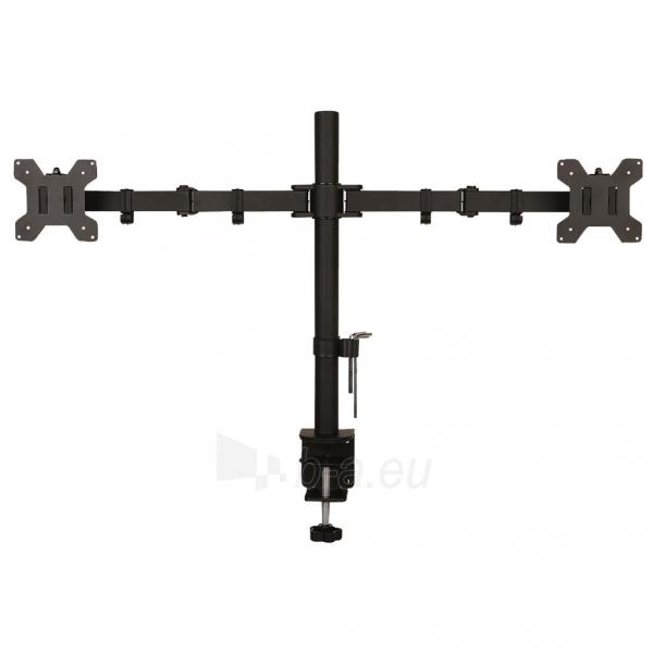 TV laikiklis ART Holder for 2 LED/LCD MONITORS 13-27 L-02N Paveikslėlis 1 iš 2 310820047096