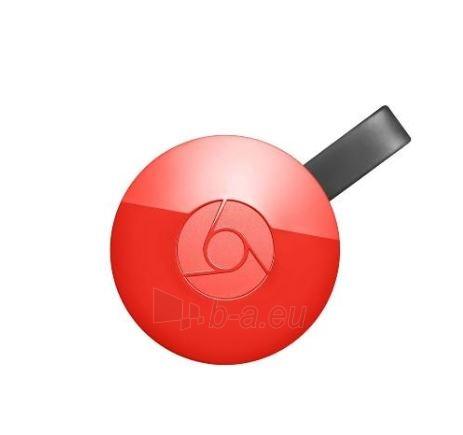 TV modulis Google Chromecast 2 red Paveikslėlis 1 iš 4 310820153026