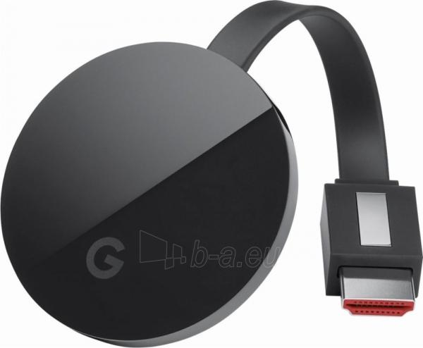 TV modulis Google Chromecast Ultra black Paveikslėlis 7 iš 8 310820152787
