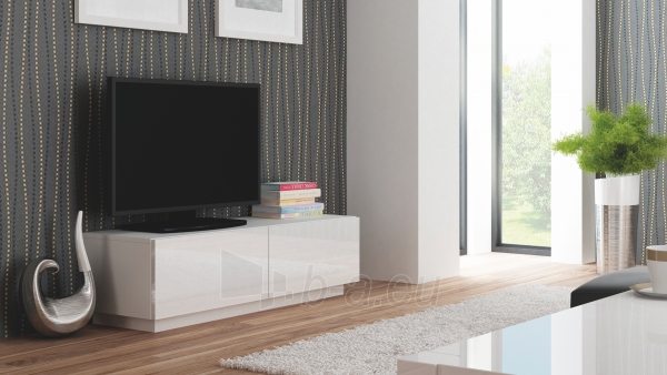 TV spintelė LIVO RTV-160S balta Paveikslėlis 1 iš 3 310820194654