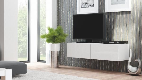 TV spintelė LIVO RTV-160W balta Paveikslėlis 1 iš 3 310820194656