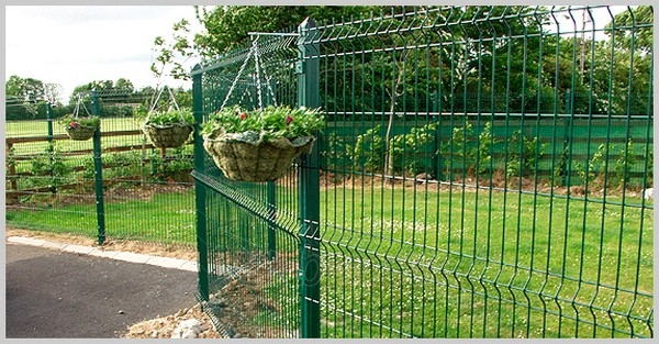 Hot dipped galvanized fencing panel 50x200x5x2030x2500 painted Paveikslėlis 1 iš 1 239360000042