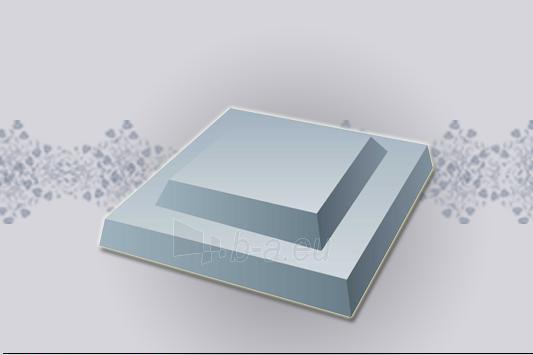 Tvoros stulpo stogelis 430x430 mm. Paveikslėlis 1 iš 1 310820016023