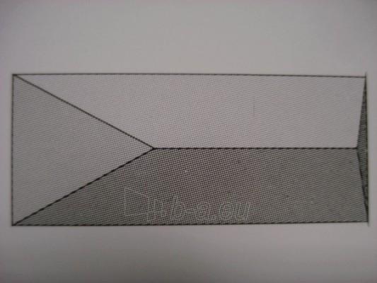 Tvoros stulpo stogelis 500x920 mm. Paveikslėlis 1 iš 1 310820015645