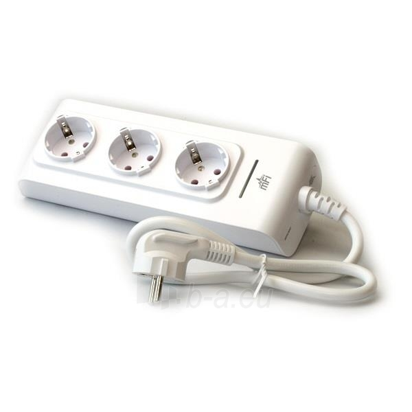 Ubiquiti mFI mPower Network Power Outlet, 3-Port Paveikslėlis 1 iš 2 250257100508