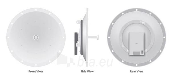 Ubiquiti PowerBridge M10 10.5GHz 0.6m 34dBi Dish Paveikslėlis 2 iš 3 310820009307