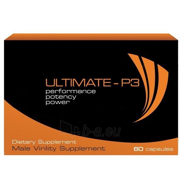 Ultimate P3 - sprendimas vyrui 60 kaps. Paveikslėlis 1 iš 1 2514131000047