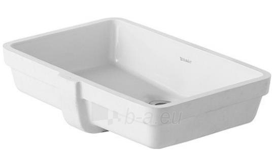 Undercounter basin 48 cm Vero white,with overflo Paveikslėlis 1 iš 1 270711000975