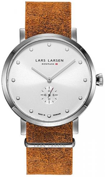 Unisex laikrodis Lars Larsen LW32 Tristan Steel 132SWCZ Paveikslėlis 1 iš 5 310820110684
