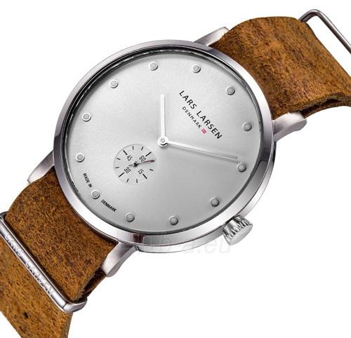Unisex laikrodis Lars Larsen LW32 Tristan Steel 132SWCZ Paveikslėlis 2 iš 5 310820110684
