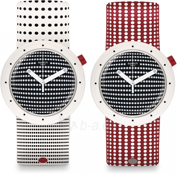 c7273ea55 Unisex laikrodis Swatch Oboustranné hodinky Dotypop PNW104 Paveikslėlis 1  iš 5 310820109720