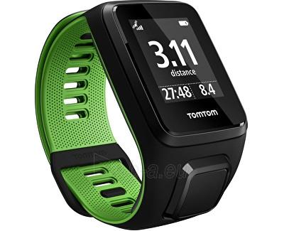 Unisex laikrodis TomTom TomTom Runner 3 BLK/GRN (L) Paveikslėlis 1 iš 1 310820112379