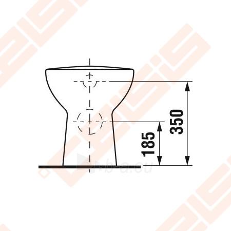 "Toilet ""Olymp"" withaut tank with right runoff Paveikslėlis 2 iš 4 270713000342"